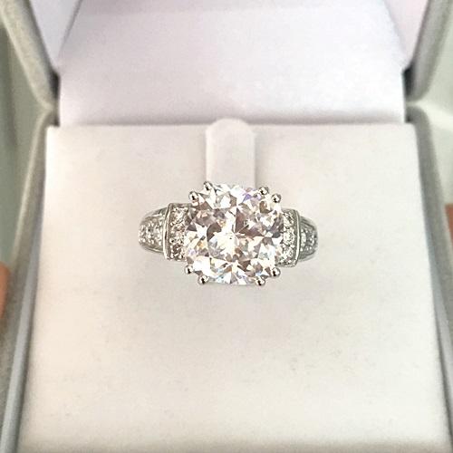 Cushion-Brilliant-Diamond-Dress-Ring