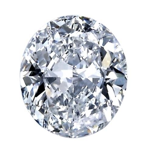 Oval shape diamond simulant stone from Desert Diamonds