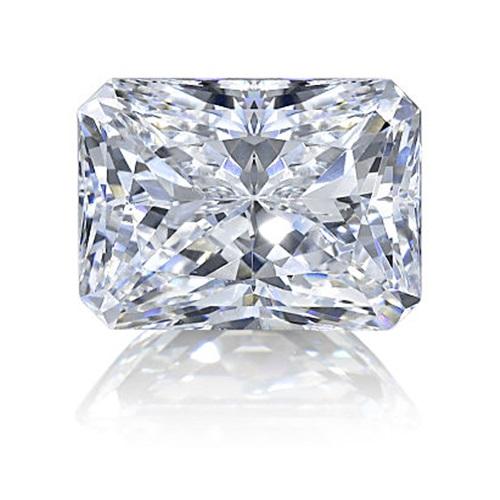 Radiant cut diamond simulant loose stone from Sally's Desert Diamonds
