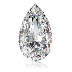 Pear cut/ teardrop diamond simulant loose stone