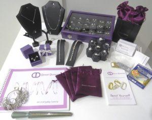 The full start up kit for becoming a distributor at Desert Diamonds