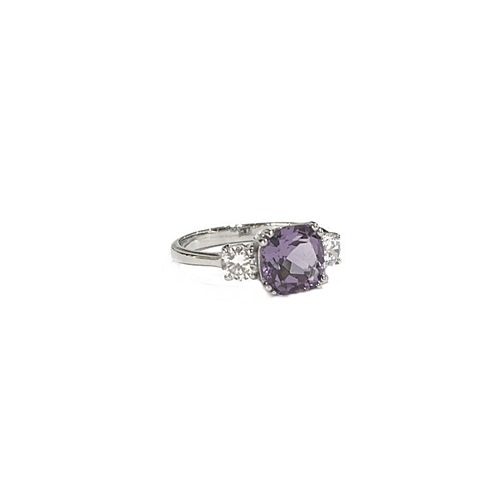 Meghan Markle Engagement ring amethyst stone