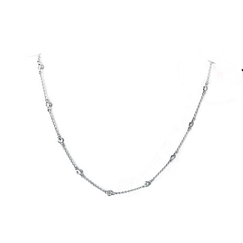Bezel-set-diamond-necklace