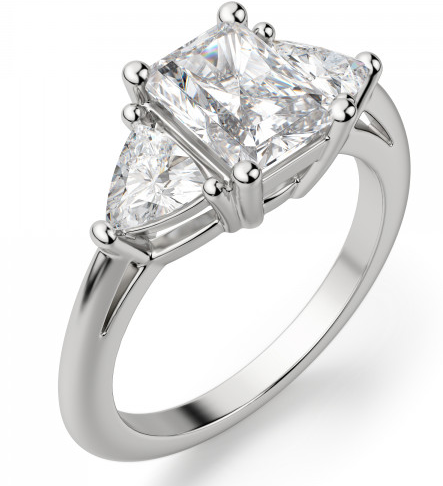 Radiant-cut-engagement-ring