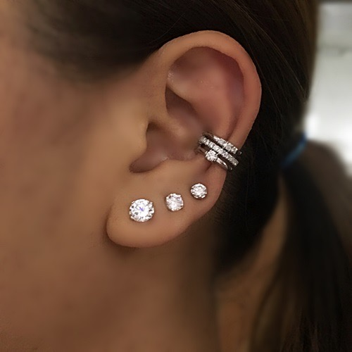 earring-cuff-diamond-helix-silver