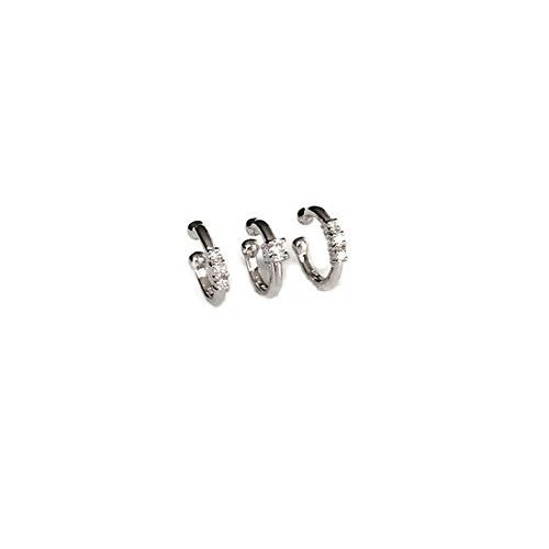 Helix diamond cuffs